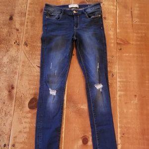 Zara x-long skinny jeans